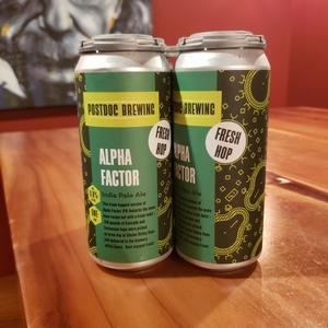 Fresh Hop Alpha Factor - 4pk Cans TO GO